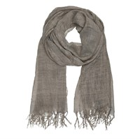 Tif & Tiffy Basic Wool Scarf Taupe
