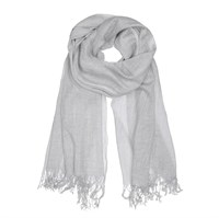 Tif & Tiffy Basic Wool Scarf light Grey
