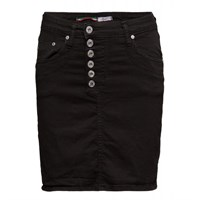Please Jeans Skirt Black