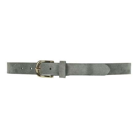 Depeche Læderbælte Narrow Belt 12834 Grey