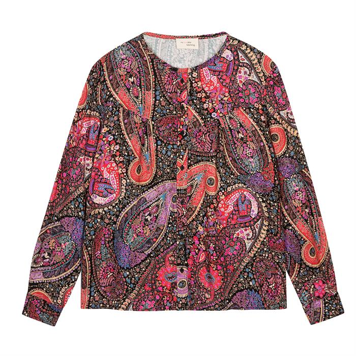 My Sunday Morning Alexia Blouse Gypsy Print