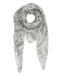 Tif Tiffy Mon Cherie Scarf Light Grey