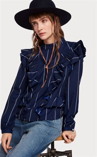 Maison Scotch Highneck Shirt 150092