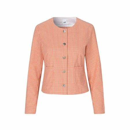 Naja Lauf Vigga Tiny Check Jacket Red