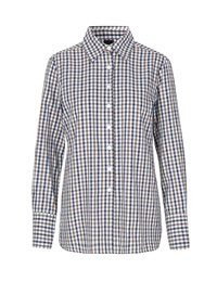 Naja Lauf Britt Play Cotton Shirt Big Check