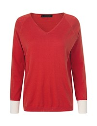 Naja Lauf Milla Silk Cotton Knit Red