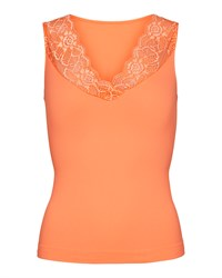 Tim & Simonsen Belen V-Lace Top Melon M18214