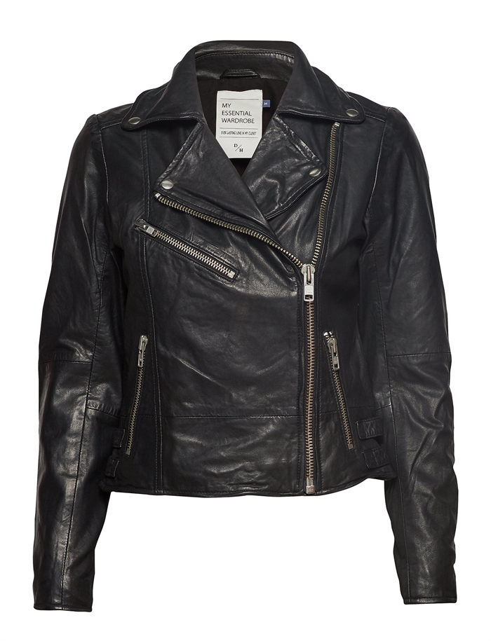 Denim Hunter 02 The Leather Jacket Black