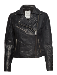 D/H The Leather Jacket Black 10702545