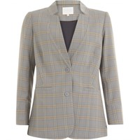 Coster Copenhagen Suit Jacket Check Snow Blue 195-8500