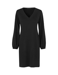 Naja Lauf Wool Dress Black