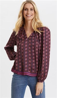 Odd Molly Insanely Right Blouse Firework Fuchsia 120M-511