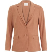 Coster Copenhagen Suit Jacket w.button Details at Cuffs Soft Rose 201-8102