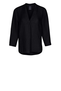 Luxzuz Blouse Black