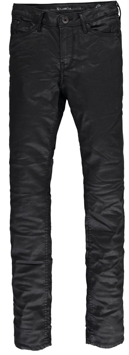 Garcia Black Coated Jeans