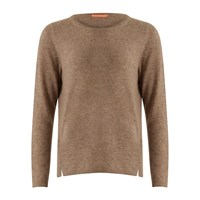 Coster Copenhagen Cashmere Sweater Beach Brown